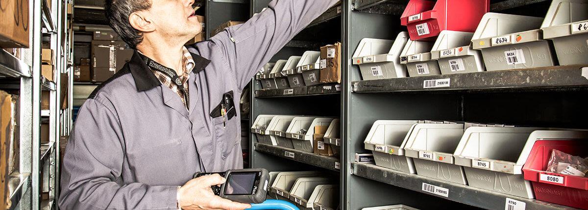 L-mobile rfid-finder.com RFID-C-Teile-Management mit RFID Technologie