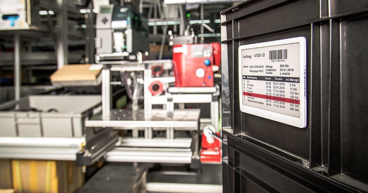 L-mobile RFID Auto-ID Technologie e-label
