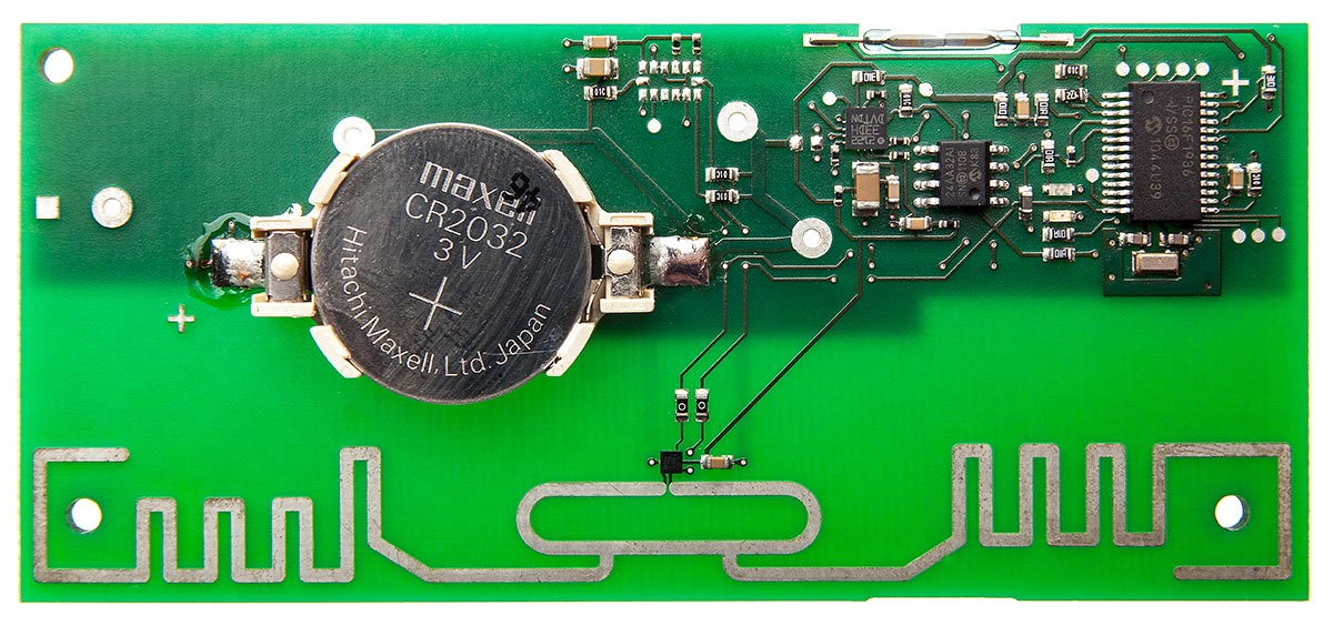 L-mobile RFID Auto-ID Technologie aktiver RFID-Transponder Aufbau