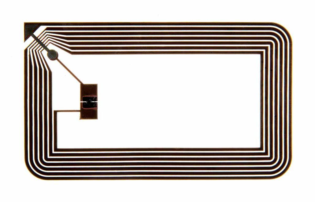 L-mobile RFID Auto-ID Technologie passiver RFID-Transponder Aufbau