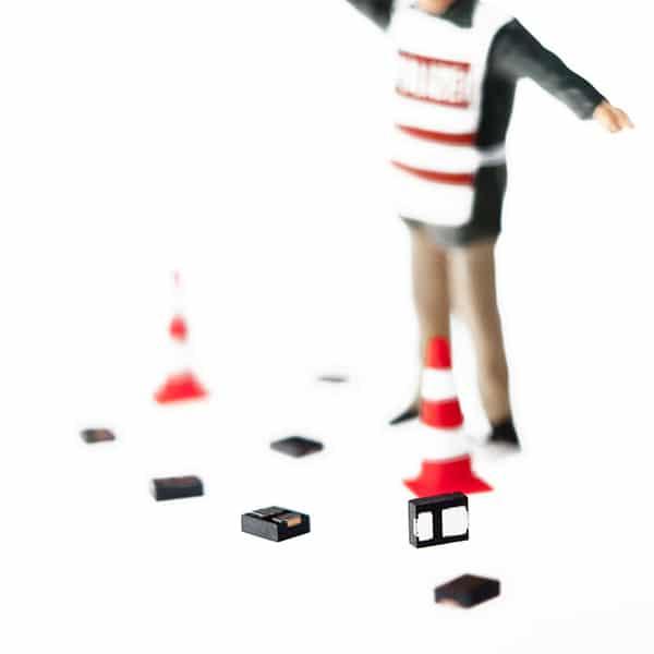 L-mobile RFID Auto-ID Technologie passiver RFID-Transponder Micro-Tag