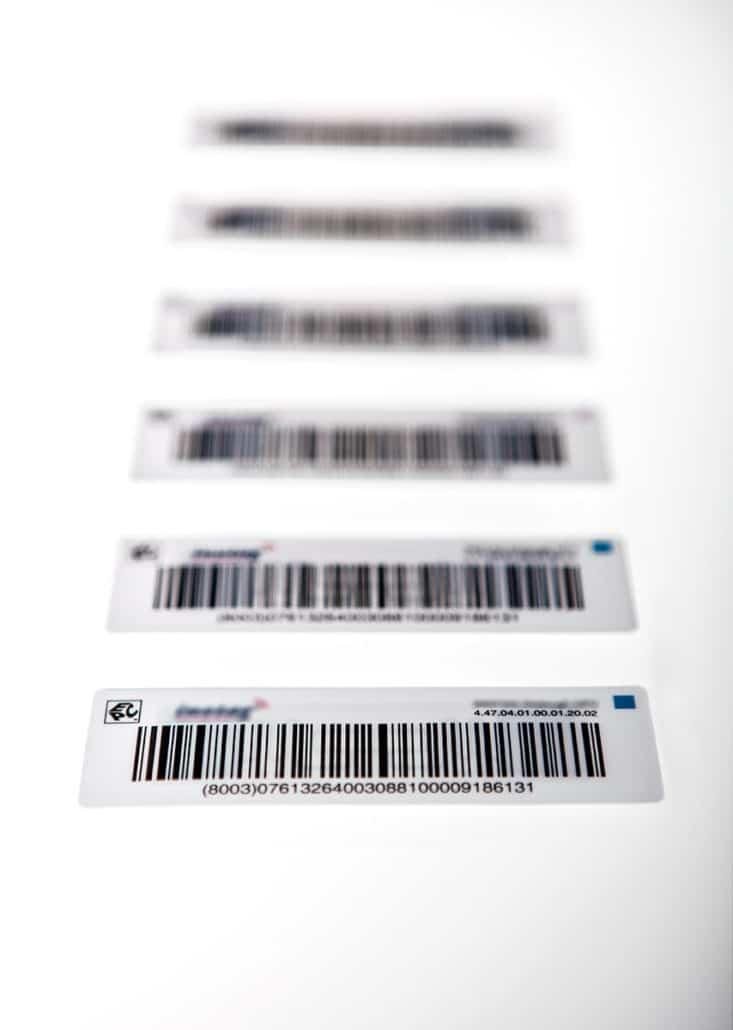 L-mobile RFID Auto-ID Technologie passiver RFID-Transponder Stabtransponder Etiketten
