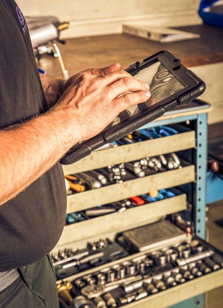L-mobile trace equipment RFID-Werkzeugkennzeichnung