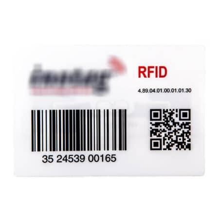 RFID-Tag LM1018 HF UHF bedruckbar