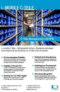 L-mobile C-Teile Management Flyer
