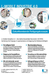 L-mobile industrie 4.0 Flyer