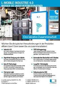 L-mobile industrie 4.0 – Partner werden Flyer
