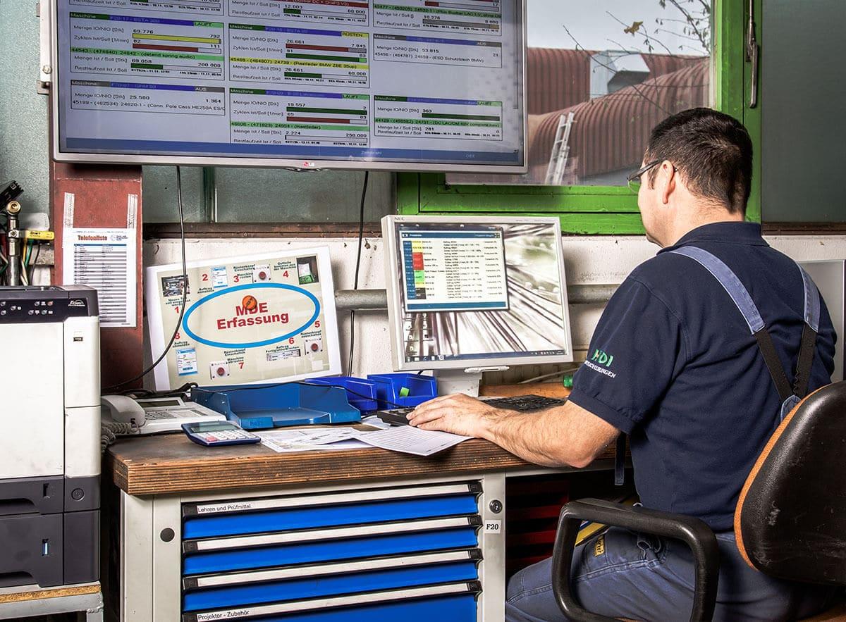 L-mobile production mobile RFID-Softwarelösung Produktionsplantafel