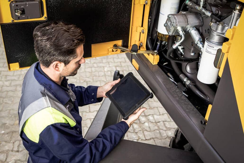 L-mobile service mobile RFID-Softwarelösung mobiler Servicetechniker Client